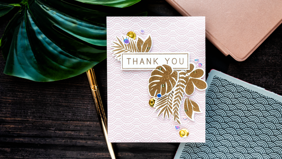Simon Says Stamp   Another Tropical Thank You Card