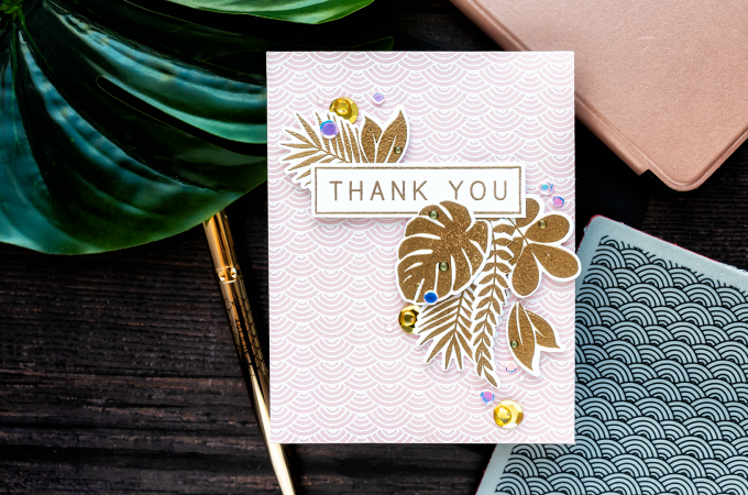 Simon Says Stamp | Another Tropical Thank You Card
