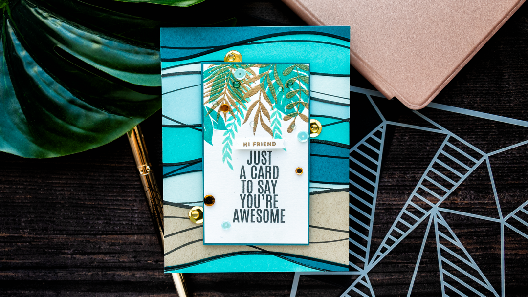 Simon Says Stamp | Just A Card To Say You're Awesome