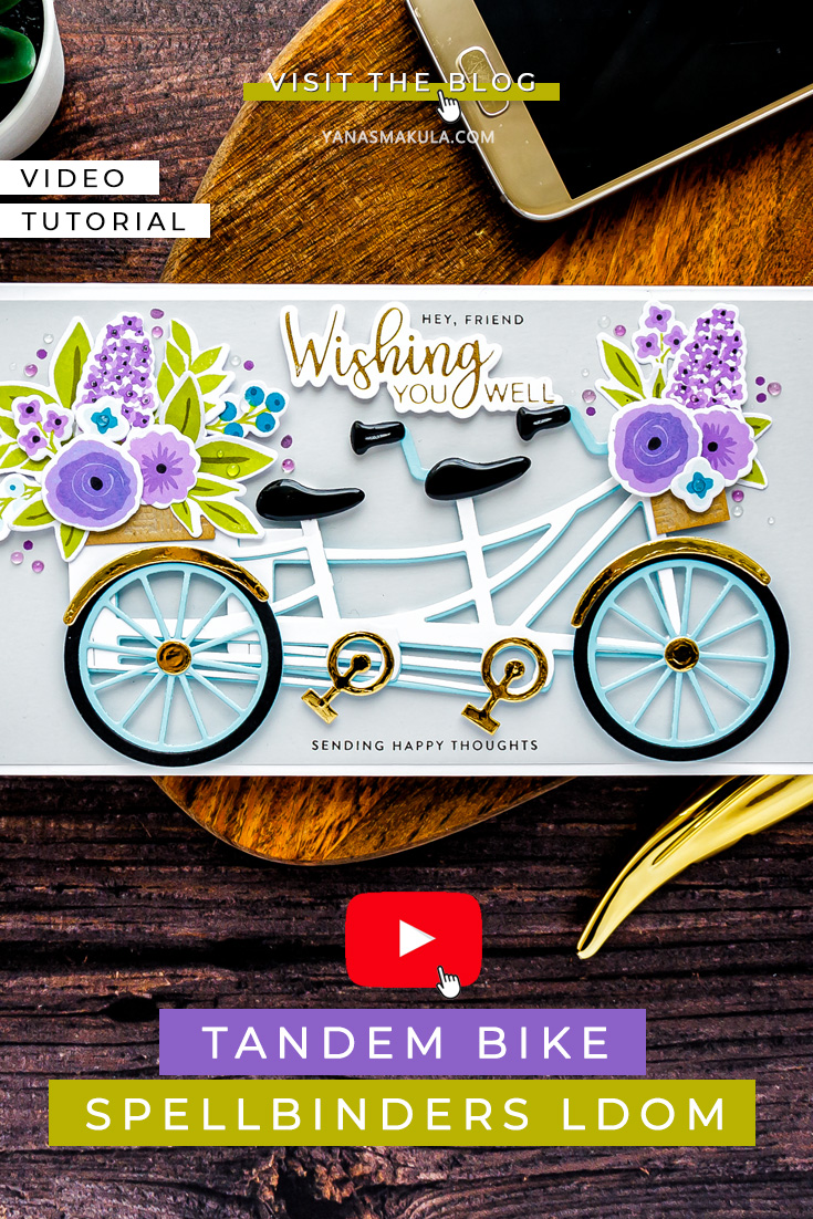 Cardmaking with Spellbinders July Large Die Of the Month | Video +