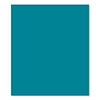FSJ Blue Lagoon 8.5 X 11 Cardstock