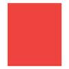 FSJ Rich Coral 8.5x11 Cardstock