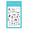 Flora and Fauna Winter Mini Snowglobe Stamps