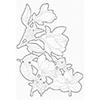 My Favorite Things Floral Focus Die-namics Mft1554