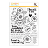 Simon Says Clear Stamps Thankful Flowers