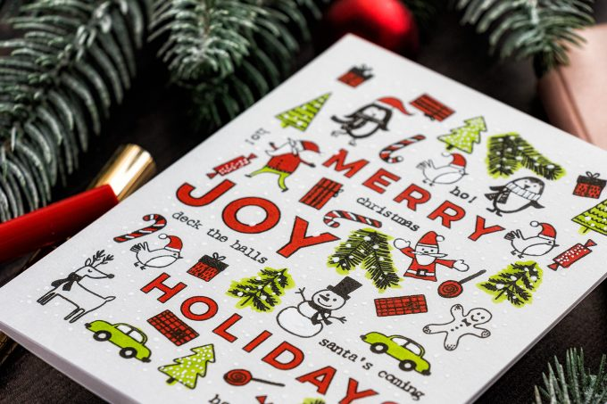 Flora & Fauna Stamps | Playing With Tiny Holiday Images