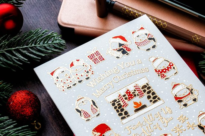 STAMPtember – The Greeting Farm | It's a One Layer Christmas! #STAMPtember #simonsaysstamp