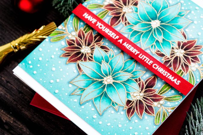 STAMPtember – Paper Rose | Have Yourself A Merry Little Christmas
