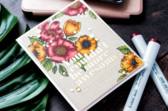 Simon Says Stamp | Muted Colors with Kraft Cardstock. Video