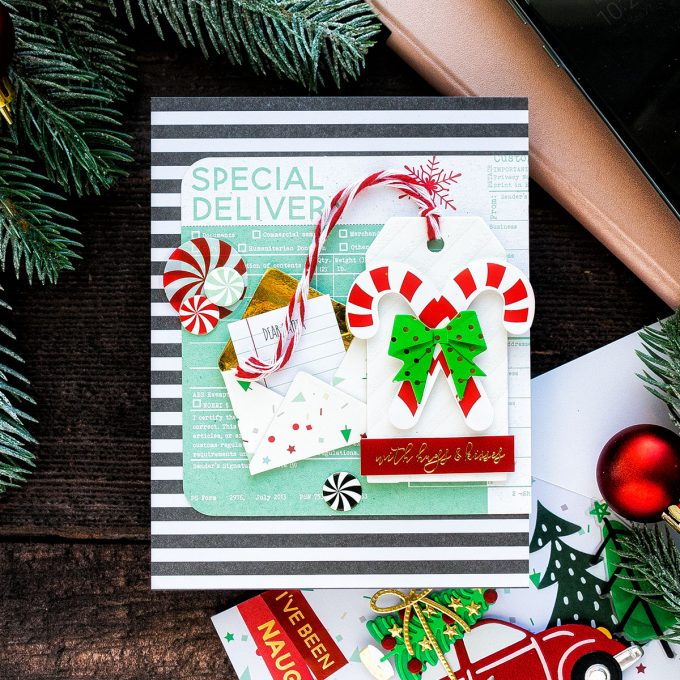 Spellbinders Merry Little Everything Card Kit - 8 Christmas Cards. Video