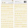 Pebbles Inc. Jen Hadfield Anne Foil Foam Letter Stickers
