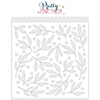 Pretty Pink Posh Leaves and Berries Stencil