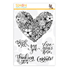 Simon Says Stamps Floral Heart