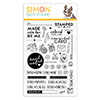 Simon Says Clear Stamps Hand Crafted With Love