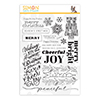Simon Says Clear Stamps Holiday Greetings Mix 1