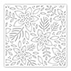 Simon Says Stamp Stencil Winter Floral