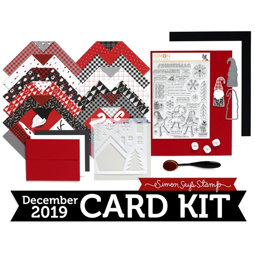 Simon Says Stamp Card Kit of the Month December 2019