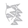 Hero Arts DI707 Tri-fold Edge Winter Pine Fancy Dies (F)