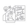 Hero Arts DI708 Gift Card Holder Fancy Die (F)