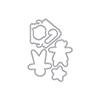Hero Arts DI710 Christmas Gingerbread Cookies Frame Cuts (C)