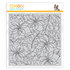 Simon Says Cling Stamp Winter Floral Mix Background