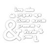 Cz Design Wafer Dies Ampersand Words