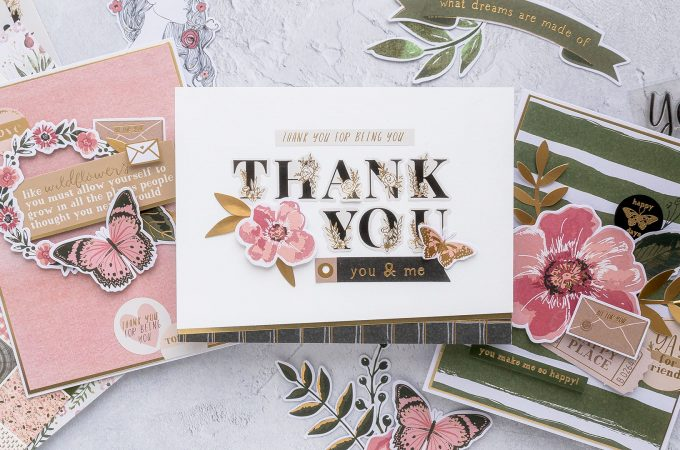 Spellbinders | December 2019 Card Kit Add On Cards Inspiration. Handmade cards by Yana Smakula #spellbinders #neverstopmaking #cardmaking