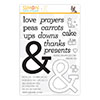 Cz Design Clear Stamps Ampersand Words