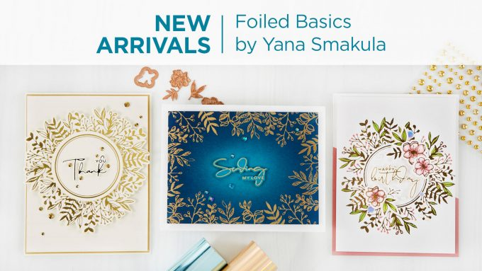 Spellbinders | Foiled Basics Collection by Yana Smakula