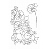 My Favorite Things Rose Garden Clear Stamps