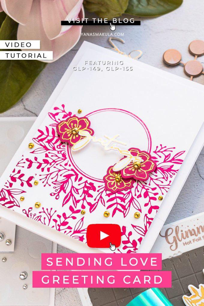 Spellbinders | Foiled Basics Collection by Yana Smakula #GlimmerHotFoilSystem #cardmaking #hotfoiling
