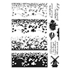 Hero Arts Clear Stamps Tulip Field Heroscape