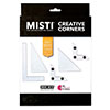 Hero Arts Misti Creative Corners Black
