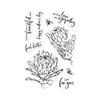 Hero Arts CM448 Protea Flowers