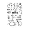 Hero Arts CM449 Bandicoot & Friends