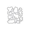 Hero Arts DI756 Bandicoot & Friends Frame Cuts (C)
