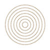 Spellbinders Essential Glimmer Circles Glimmer Hot Foil Plate