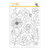 Simon Says Clear Stamps Spring Flowers 4