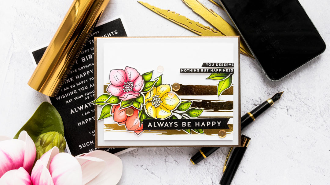 Simon Says Stamp   Hot Foil & Stamping. Video tutorial by Yana Smakula #simonsaysstamp #cardmaking #hotfoiling