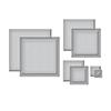 Spellbinders Essential Squares Etched Dies