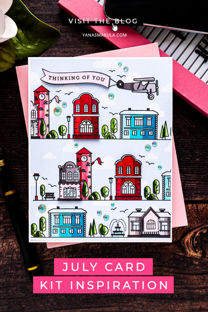 Simon Says Stamp | July 2020 Card Kit Inspiration - featuring HOME SWEET HOME sss202087 #simonsaysstamp #sssck #stamping #cardmaking