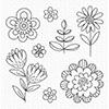 MFT Stamps Fun Flowers