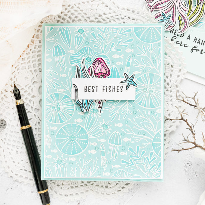 Hero Arts | July 2020 My Monthly Hero Kit – Add On Card Ideas by Yana Smakula #cardmaking #heroarts #mymonthlyhero