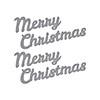 Spellbinders Bold Type Merry Christmas Dies