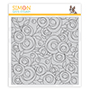 Simon Says Cling Stamp Spring Flowers Background