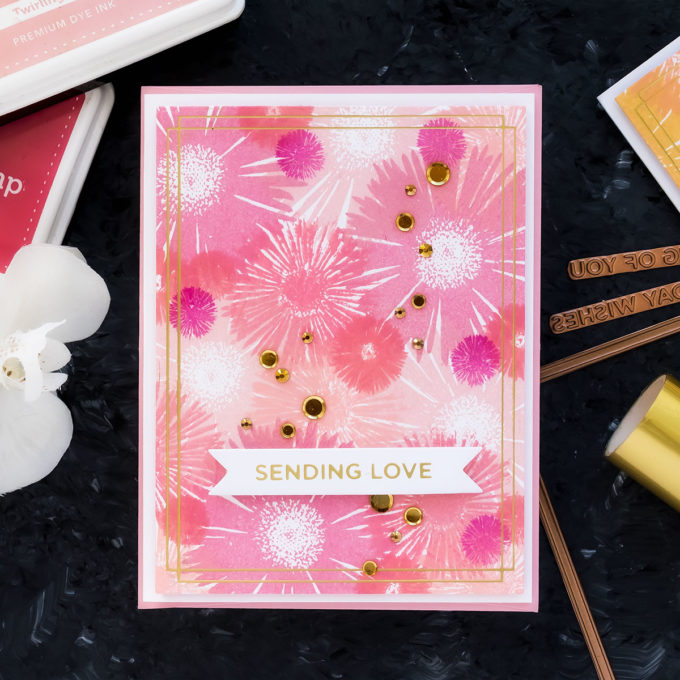 Simon Says Stamp | Floral Patterns with Solid Stamps. Video