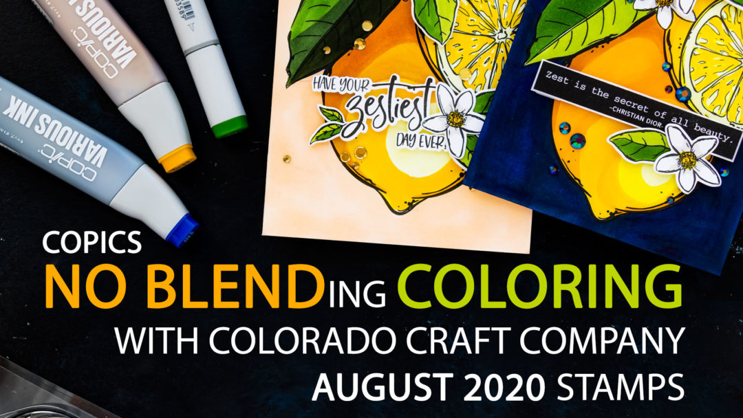 Colorado Craft Company | Coloring Lemons with the No Blending Method + Discount Code | Video