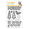 CZ Design Clear Stamps Chunky Christmas
