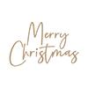 Spellbinders Stylish Script Merry Christmas