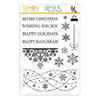 Gina K Designs Snowflake Cascade Stamptember 2020 Exclusive